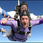 Parenting: A Sky-Diving Kind of Adventure